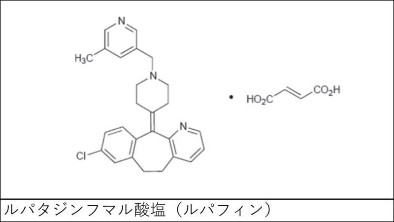 ルパタジンフマル酸塩(ルパフィン)