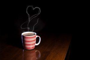 お昼寝前のコーヒー
